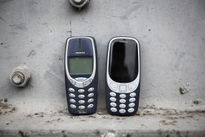 deepAfrica- Old nokia vs new