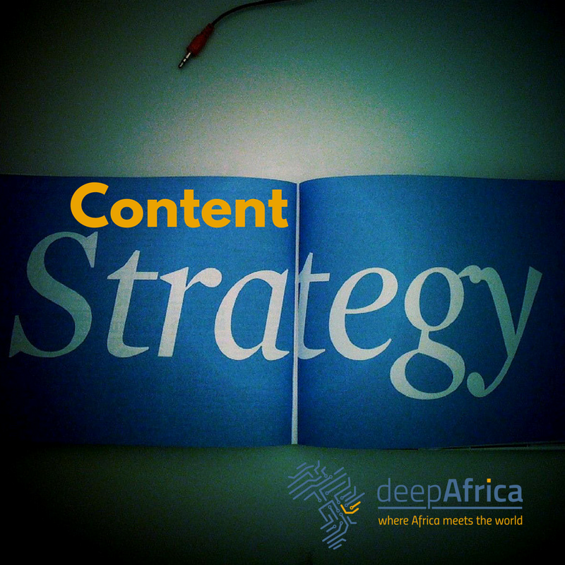 CREATING A CONTENT STRATEGY