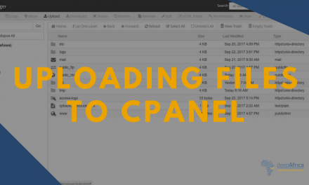 How to Upload Website Files to your CPanel